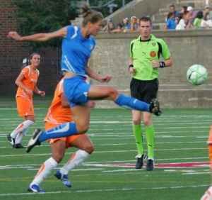 Boston Breakers, Newton Girls Soccer, April Clinic