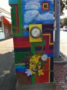 street art, street art gallery, street art newton, newtonville, west newton, box art, boxart