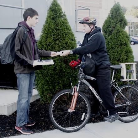 Ari Appel, Bike 2 School, Bike2School, Nina Kaplan image