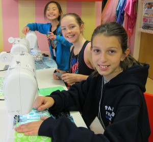 Newton Sewing Studio, sewing classes for kids Newton MA