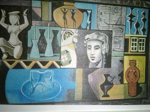 """Morrison """"Fragments of the Past"""" 53x83 $ $5,200"""
