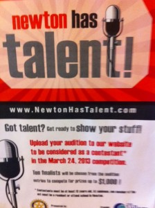 Newton talent show, Newton talent, Newton has talent