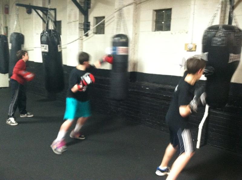 Boxing For Kids At Nonantum Boxing Club I Love Newton