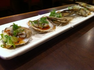 oysters, Bon Chon, Korean Restaurant, Allston, Korean fried chicken restaurant, Korean fusion restaurant Allston, Boston Korean restaurant scene