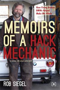 Newton author, Memoirs of a hack mechanic, Rob Siegel