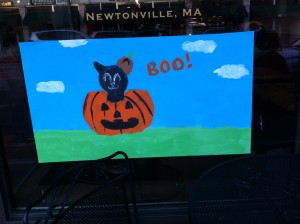 Newton MA Halloween Wind