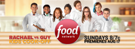 Rachael Ray vs Guy Fieri Kids Cook Off
