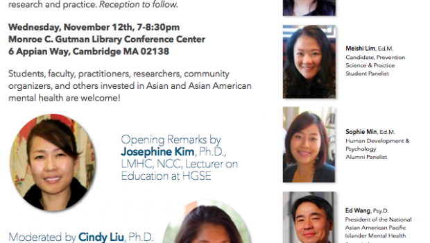 Panel Explores Mental Health, Asian American Culture