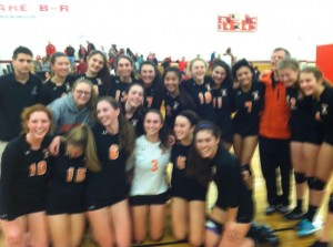 NNHS Women's Volleyball 2014 champions