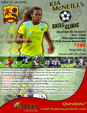 Girl's Winter Vacation Skill Clinic