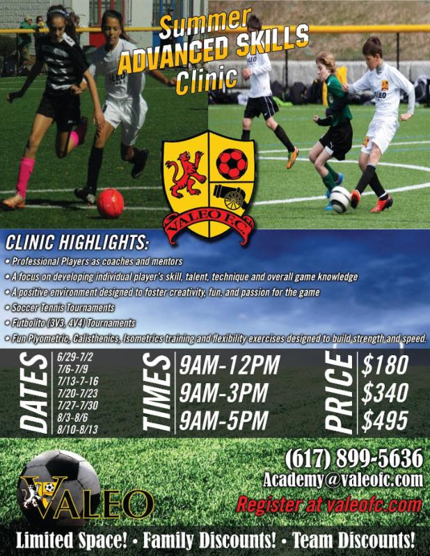 soccer camps Newton