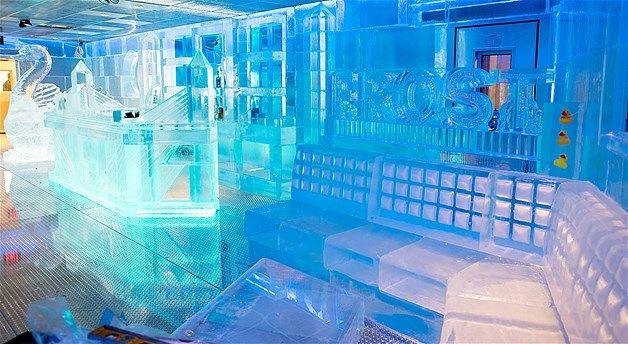 Frost Ice Loft's Frozen Tea Party