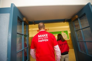 Curley K-8 Gets Resource Room from Staples!