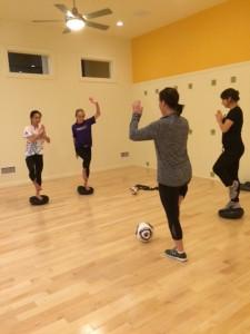 Soccer on the Mat Classes for Girls 11-15