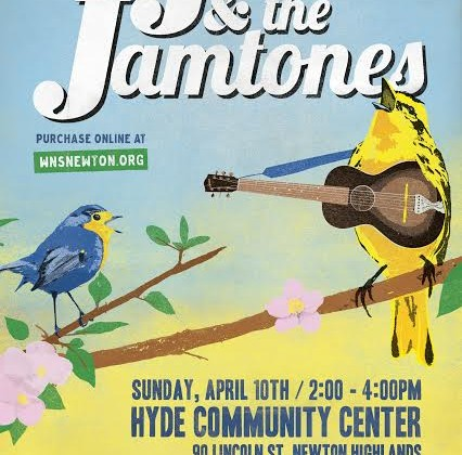 music event for kids in Newton