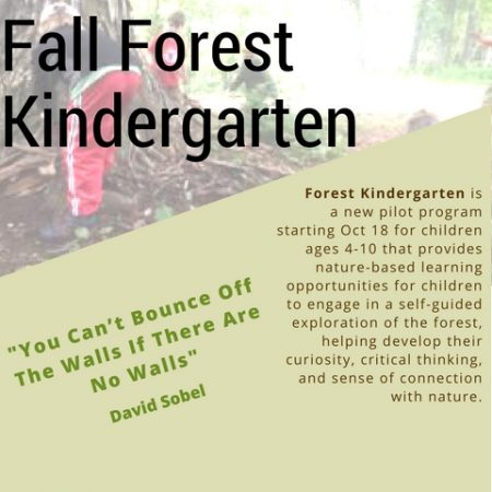 Friends of the Fells Forest Kindergarten program
