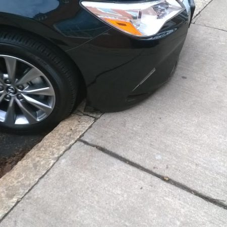 Parking Hazard on Auburn Street