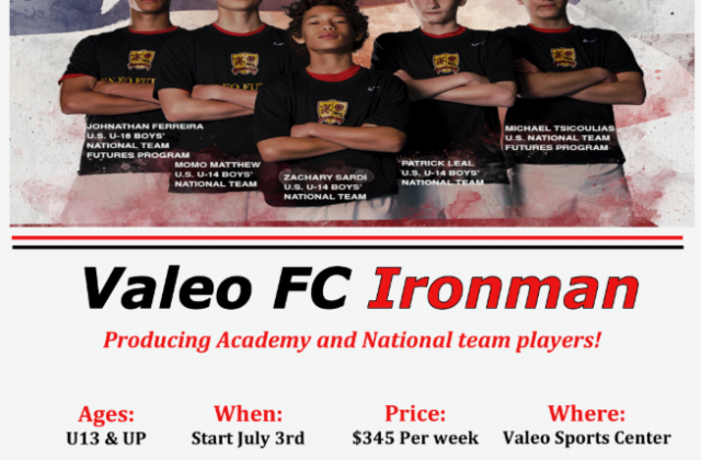 IRONMAN! Producing Academy and National Team Players!