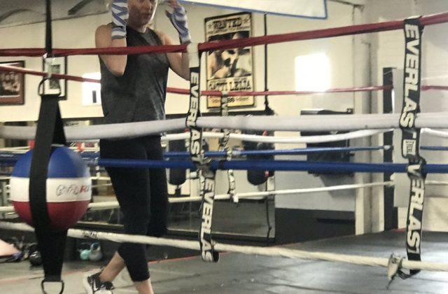 Dena Dina Nonantum Boxing Club trainer