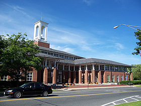Newton Free Library best places to live Newton Massachusetts MA New England