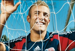 Taylor Twellman Revolution New England Soccer Professional Player Resident of Newton MA