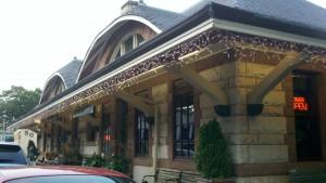 H H Richardson, Newton Centre Train Station