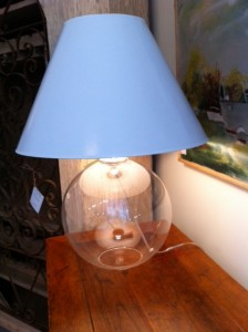 glass lamp, Darby Road, Waltham