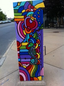 boxart, street art, electrical box art, Allston, Boston, Newton