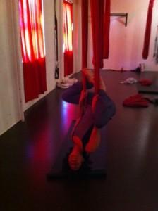 upside down yoga, aerial yoga Boston, South Boston Yoga, anti-gravity yoga