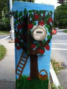 Newton BoxART, Chestnut Street, Newton street art