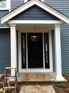 New front entrance, house for sale Newton