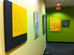 NewTV art gallery, bravery exhibit