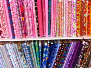 Newton Sewing Studio fabrics for kids projects