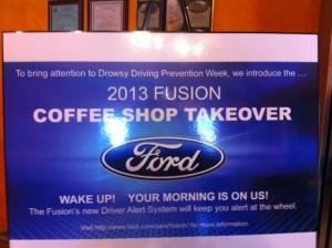 Ford Fusion bloggers event Newton MA
