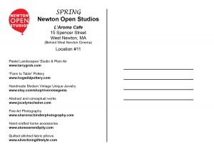 Newton Open Studios, L'Aroma Cafe