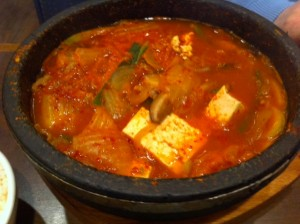 korean hot pot, Bon Chon, Korean Restaurant, Allston, Korean fried chicken restaurant, Korean fusion restaurant Allston, Boston Korean restaurant scene