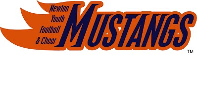 Newton youth Football, newton youth cheer, Newton Mustangs