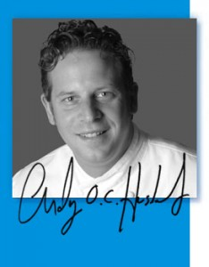 chef andy husbands, cook book author andy husbands