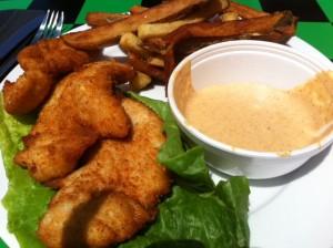 fried chicken at po boys, Po Boys, Poor Boys, Newton New Orleans Restaurant, Po Boy sandwiches