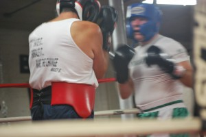 Nonantum Boxing Club sparring matches
