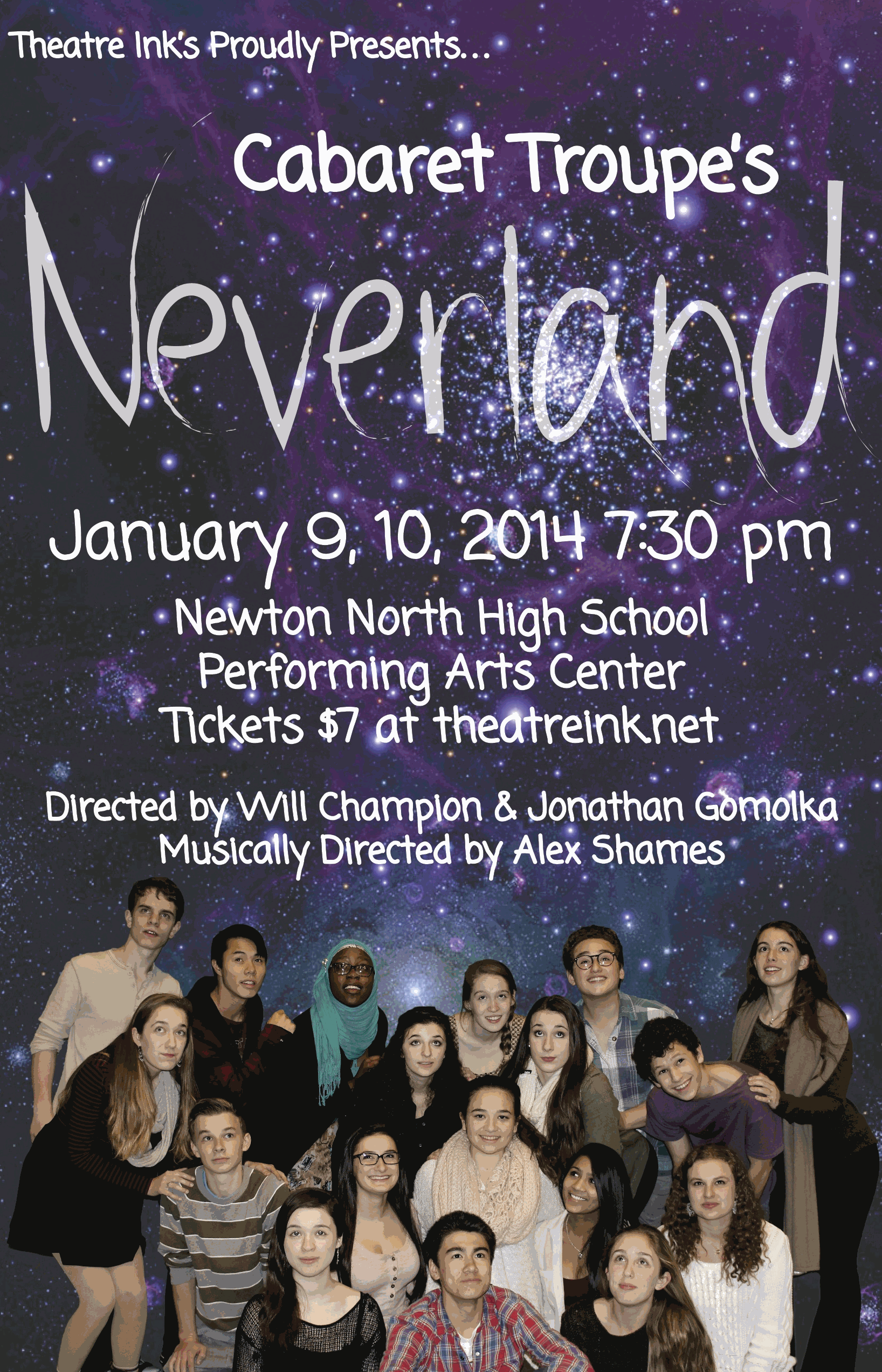 Cabaret Troupe coming January 9 and 10 at NNHS