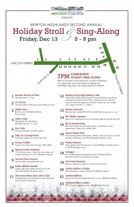 2nd Annual Holiday Stroll & Sing-Along