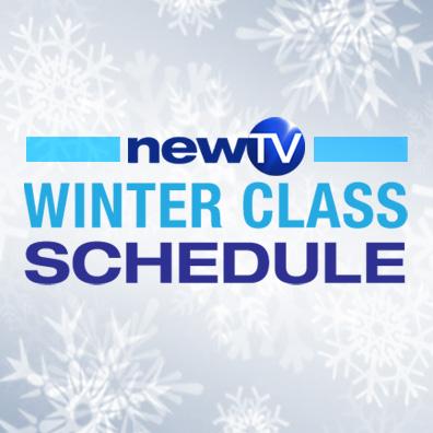 Winter Class Schedule at NewTV