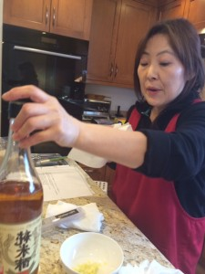 Ayako Samuels, The Sweet Kitchen, Newton cooking classes, Japanese home cooking classes Newton MA