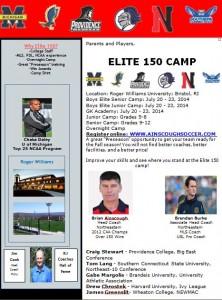 Elite 150 Boys Soccer Sleepaway
