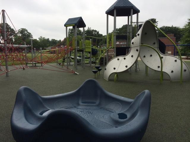 New Playground at Peirce Elementary School
