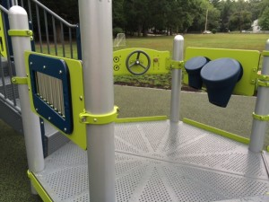 New Playground at Peirce Elementary School