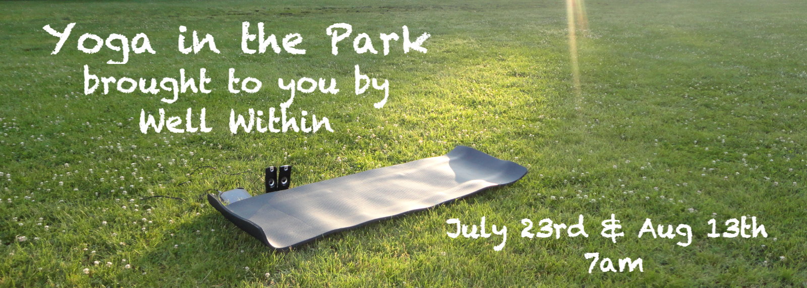Free Yoga in the Park from Well Within