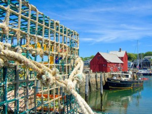 Summer clam shacks and beach towns in Massachusetts