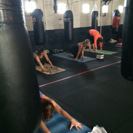 YogaBox (TM) at Nonantum Boxing Club